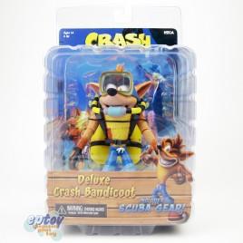 NECA Crash Bandicoot 7-inch Deluxe Scuba Crash