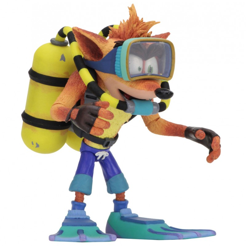 NECA Crash Bandicoot 7-inch Deluxe Scuba Crash