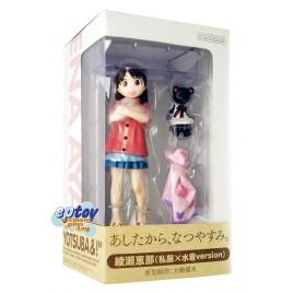Kaiyodo Yotsuba&! Ayase Ena Casual Clothes & Swimsuit Version