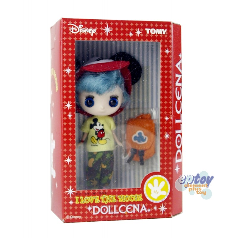 Takara Tomy Dollcena Mickey Mouse I Love Mouse