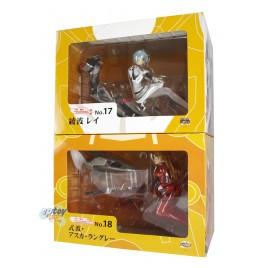 Volks Moekore Plus Evangelion 2.0 Ayanami Rei & Shikinami Asuka Langley