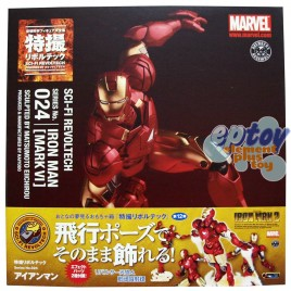 Revoltech SCI-FI No.024 Marvel Iron Man Mark VI