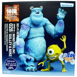 Revoltech SCI-FI No.028 Monsters Inc. Sulley & Mike