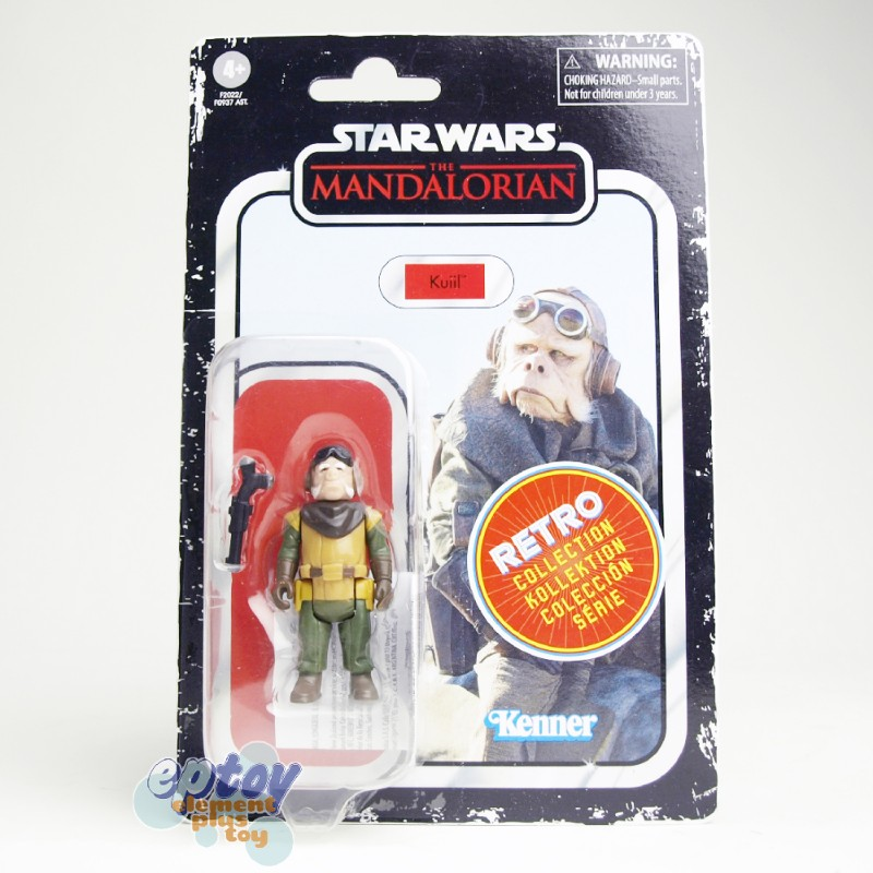 Star Wars The Mandalorian Retro Collection 3.75-inch Cara Dune Kuiil Child IG-11 Maff Gideon Greef Karga Set