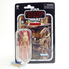 Star Wars Vintage Collection 3.75-inch VC78 The Phantom Menace Battle Droid