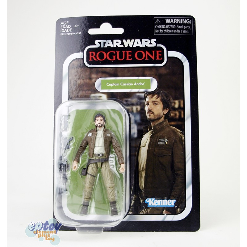 Star Wars Vintage Collection 3.75-inch VC130 Rogue One Captain Cassian Andor