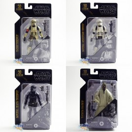 Star Wars The Black Series 6-inch Archive Yusken Raider Shoretrooper Death Trooper Hovertank Driver Set of 4