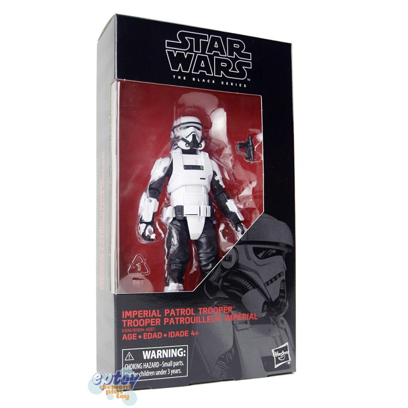 Star Wars The Black Series 6-inch #72 Imperial Patrol Trooper