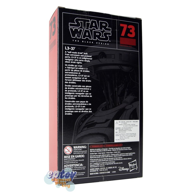 Star Wars The Black Series 6-inch #73 L3-37