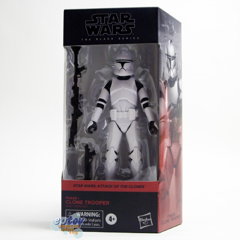 Star Wars The Black Series 6-inch Attack of the Clones #02 Phase 1 Clone Trooper