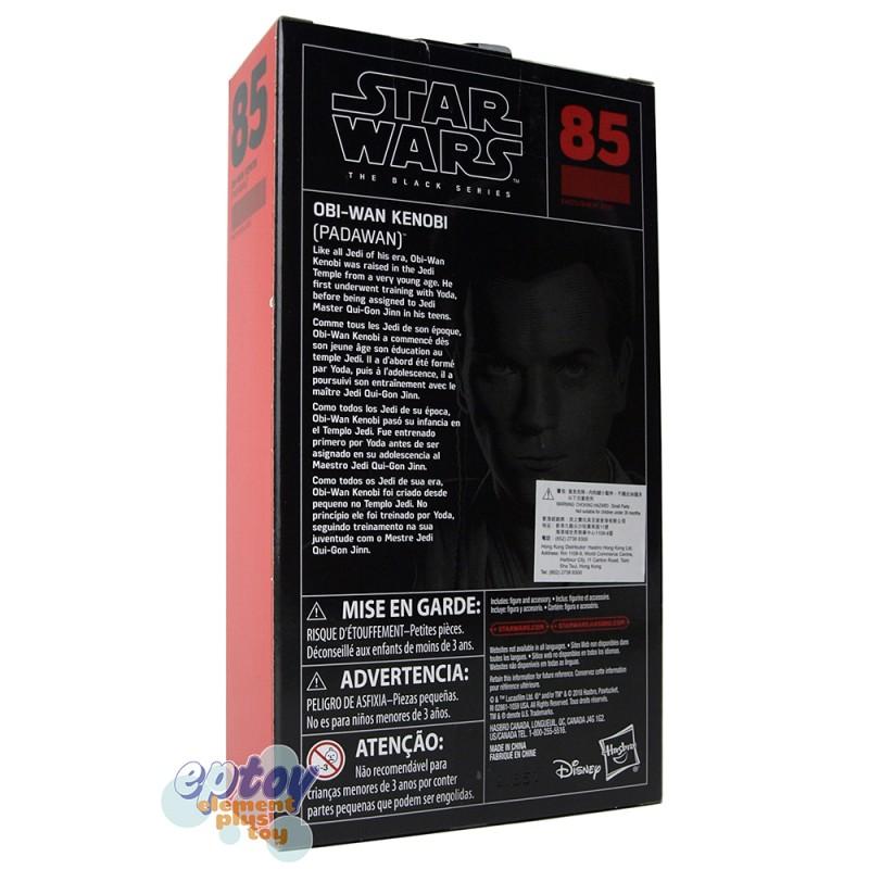 Star Wars The Black Series 6-inch #85 Obi-Wan Kenobi Padawan