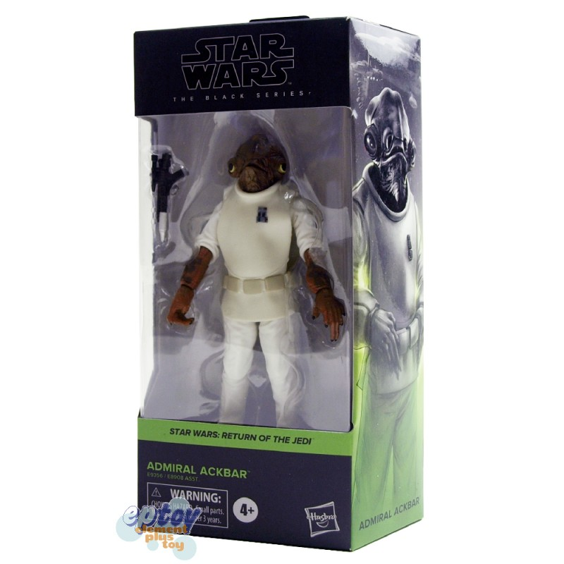 Star Wars The Black Series 6-inch Return of the Jedi #01 Admiral Ackbar