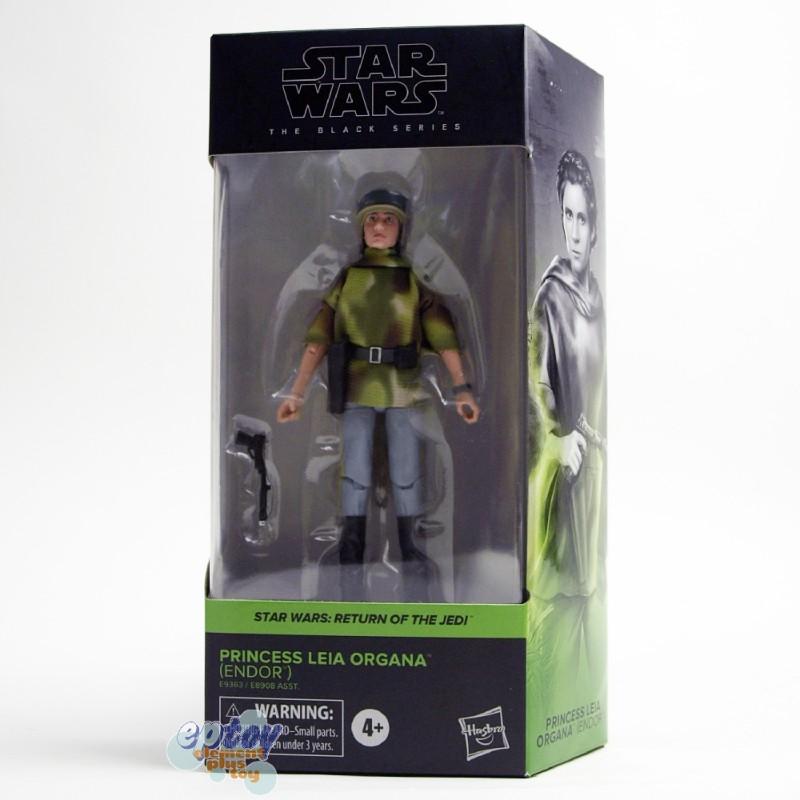 Star Wars The Black Series 6-inch Return of the Jedi #03 Princess Leia Organa Endor