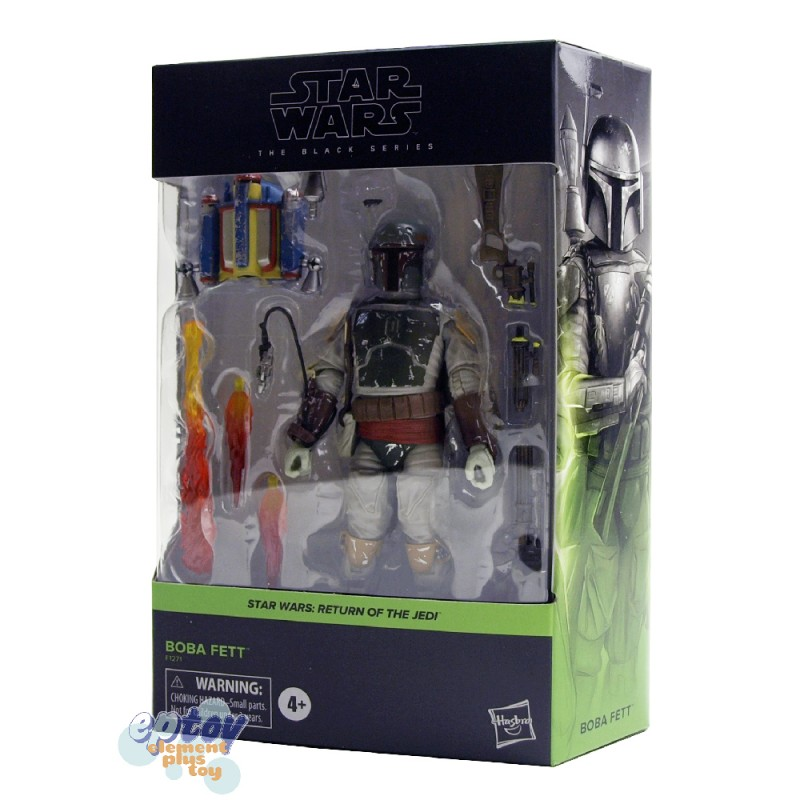 Star Wars The Black Series 6-inch Return of the Jedi #06 Boba Fett
