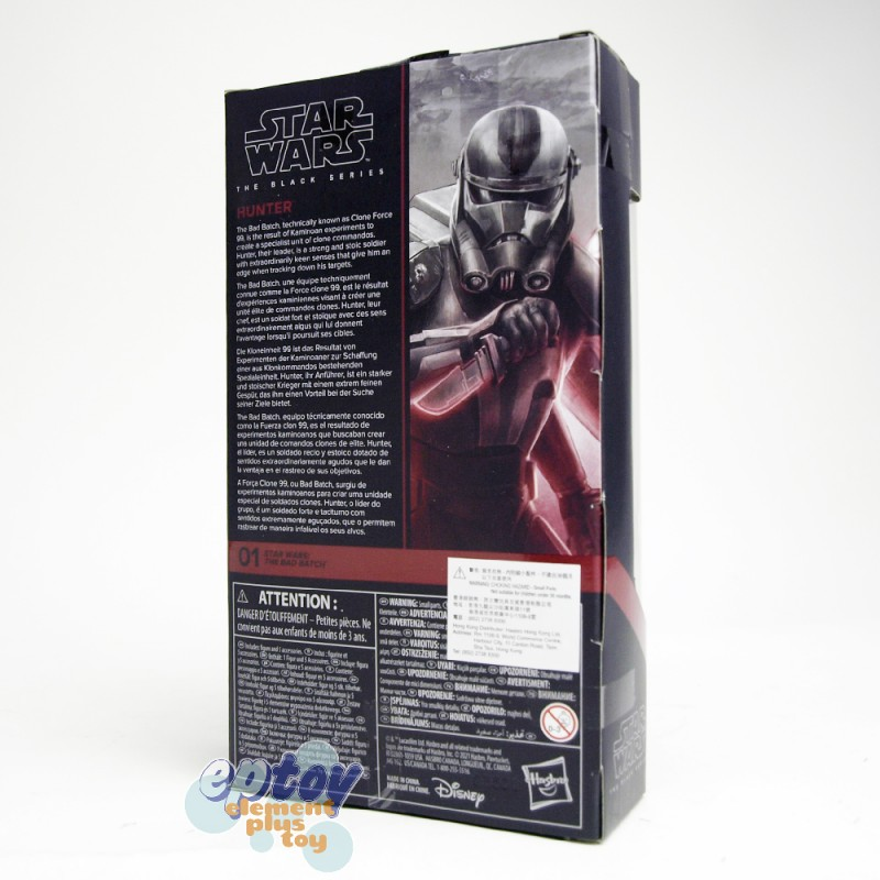 Star Wars The Black Series 6-inch The Bad Batch #01 Hunter