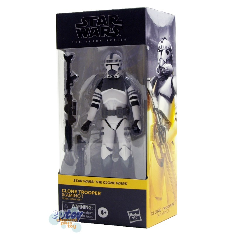 Star Wars The Black Series 6-inch The Clone Wars #01 Clone Trooper Kamino