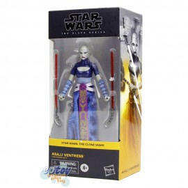 Star Wars The Black Series 6-inch The Clone Wars #07 Asajj Ventress
