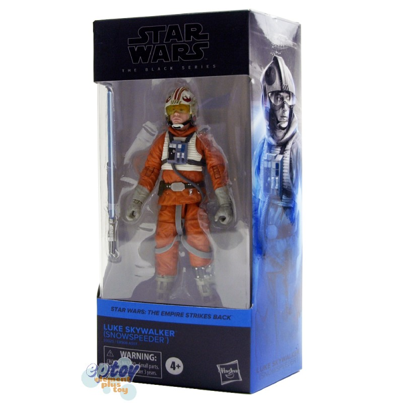 Star Wars The Black Series 6-inch The Empire Strikes Back #02 Luke Skywalker Snowspeeder