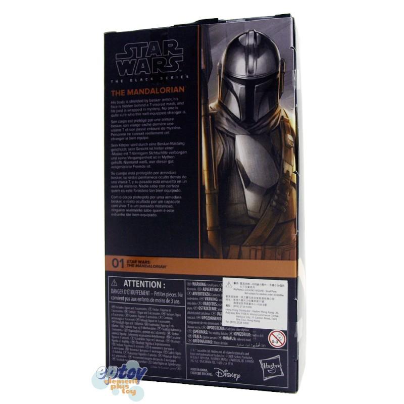 Star Wars The Black Series 6-inch The Mandalorian #01 The Mandalorian