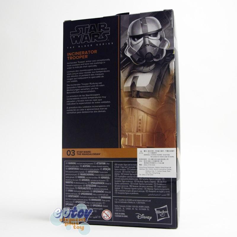 Star Wars The Black Series 6-inch The Mandalorian #03 Incinerator Trooper