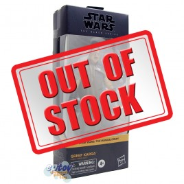 Star Wars The Black Series 6-inch The Mandalorian #06 Greef Karga