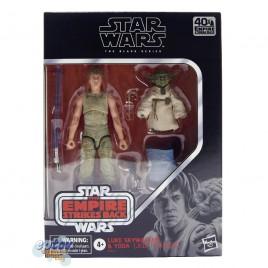 Star Wars The Black Series 6-inch The Empire Strikes Back Luke Skywalker & Yoda Jedi Training