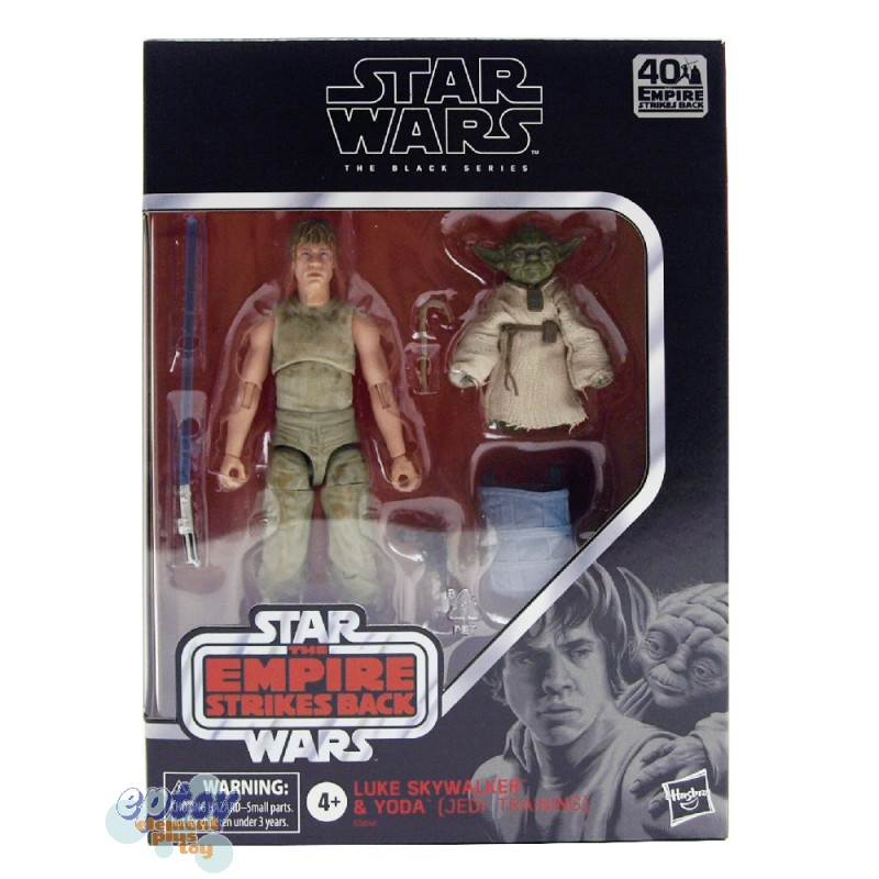 Star Wars The Black Series 6-inch The Empire Strikes Back Luke Skywalker & Yoda Jedi Training