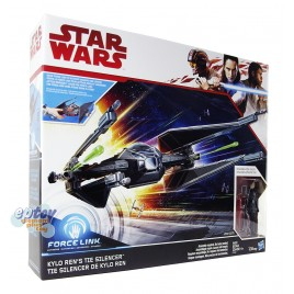Star Wars Episode 8 Kylo Ren Tie Pilot & Kylo Ren's Tie Silencer