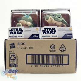 Star Wars Mandalorian The Bounty Collection The Child Baby Yoda #1 Froggy Snack #4 Force Moment Two-Pack