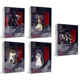 Star Wars 40th Anniversary Titanium Series 3.75-inch Die Cast Figures Set
